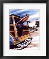 Framed Beach Wagon