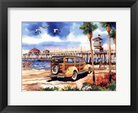 All Summer Long Framed Print