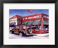Crab Cooker Framed Print