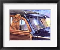 California Cruisin Framed Print