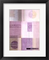 Framed Lavender Essence II