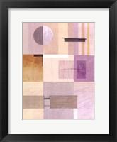 Framed Lavender Essence I