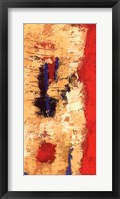 Red Confusion I Framed Print