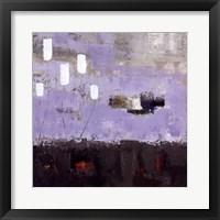 Framed Purple Fusion