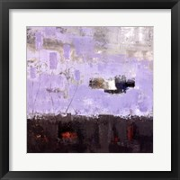 Framed Purple Fusion III