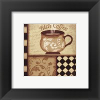 Rich Coffee Framed Print
