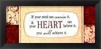 If Your Mind Can Framed Print