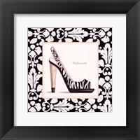 Fashionista Shoe Framed Print