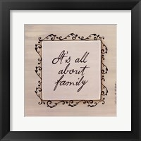 Framed About Family
