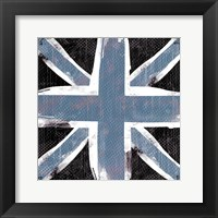 Framed Union Jack Blue And Black