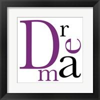 Dream 4 Framed Print
