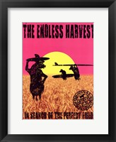 Framed Endless Harvest