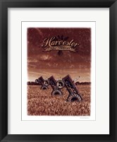 Framed Tractor Field