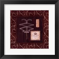 Framed Corkscrew I