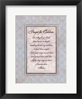 Prayer for Child Framed Print