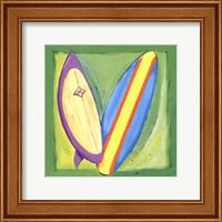 Framed Surf Boards