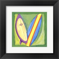 Surf Boards Framed Print