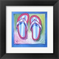 Framed Flip Flops