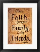 Framed Faith, Family, Friends