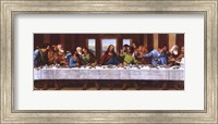 Framed Last Supper - Panel