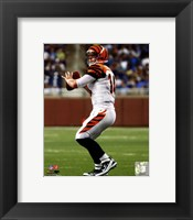 Framed Andy Dalton 2011 Action