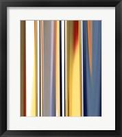 Glissando Square II Framed Print