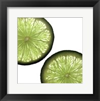 Key Lime Framed Print