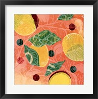 Framed Citrus Limon I