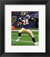 Framed Marshall Faulk 2005 Action