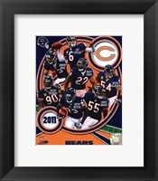 Framed Chicago Bears 2011 Team Composite