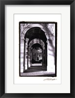 Framed Parisian Archways I
