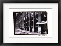 Parisian Archways IV Framed Print
