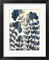 Blueberry Blossoms I Framed Print