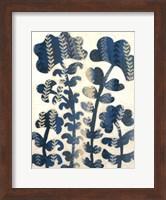 Framed Blueberry Blossoms II