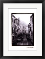 Framed Waterways of Venice II