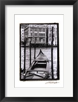 Framed Waterways of Venice III