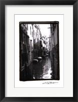Framed Waterways of Venice VII