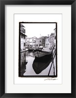 Framed Waterways of Venice VIII
