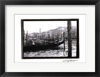 Waterways of Venice IX Framed Print