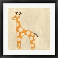 Framed Best Friends- Giraffe