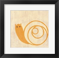 Best Friends- Snail Framed Print