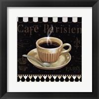 Cafe Parisien I Framed Print