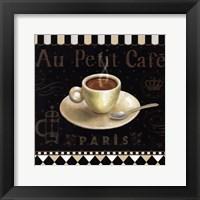 Cafe Parisien II Framed Print
