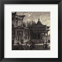 Imperial Achitecture III Framed Print