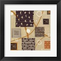 Graphic Tiles I Framed Print