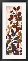 Framed Leaves of Color I