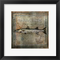 Framed Ocean Fish I