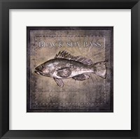 Ocean Fish II Framed Print