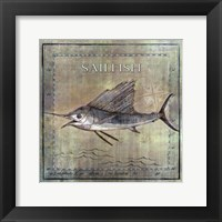 Framed Occean Fish VIII