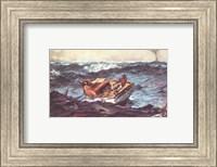 Framed Winslow Homer Storm